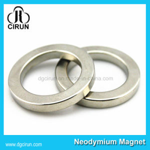 Small Size Neodymium Permanent Ring Speaker Magnets pictures & photos