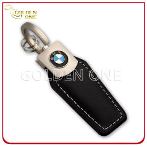 Embossed Soft Enamel Logo Nickel Finish Metal Key Ring pictures & photos
