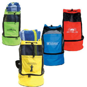 Picnic Beach Gym Sport Drawstring Cooler Bag pictures & photos