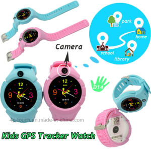 Round Screen Kids GPS Watch Tracker with Camera 3.0 D14 pictures & photos