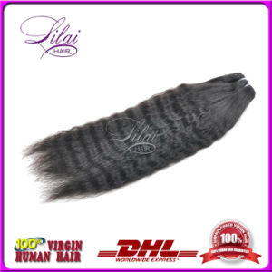 16 Inch Virgin Brazilian Kinky Straight Hair Weave Factory Direct