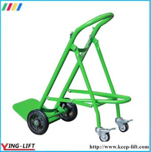 Fold-Down Cylinder Hand Truck Ty120 pictures & photos