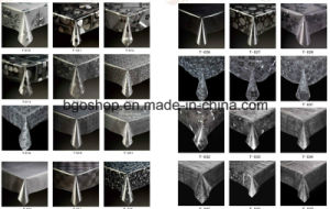 PVC Table Cloth Half Transparent Clear Film pictures & photos