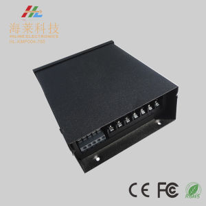 12-48VDC 700mA*4channels Metal Rainproof Constant Current LED PWM Power Repeater Amplifier Driver pictures & photos