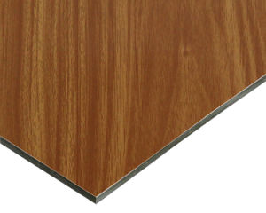 Wood Grain Aluminum Compoiste Panel for Cabinet From Factory pictures & photos