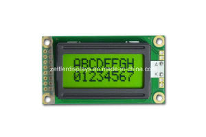 COB Character LCD Display Module, 8X2 Line: Acm0802A Series pictures & photos