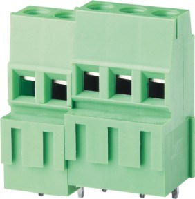 PCB Screw/Rising Clamp Terminal Block Can Be Spliced (WJEK500A-5.0) pictures & photos