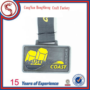 Neswst Design Customized Metal Metal Sport Running Medal with Ribbon pictures & photos