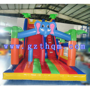 Good Quality Giant Inflatable Water Slide for Children/Huge Bouncy Slide pictures & photos