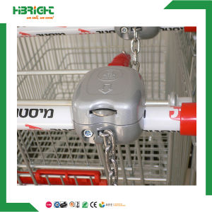 Supermarekt Metal Shopping Trolley Coin Lock for Shopping Cart pictures & photos