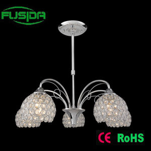 Indoor Decorative Chandelier Pendant Crystal Lighting (P-9468/3) pictures & photos