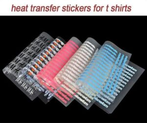 New Heat Transfer Stickers for T Shirts pictures & photos