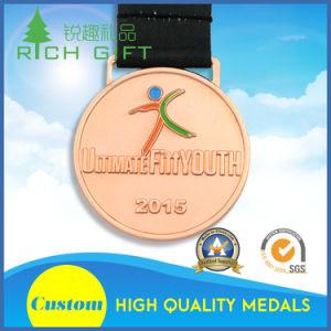 New Design Custom Fine Marathon Running Gold Award Metal Medal pictures & photos