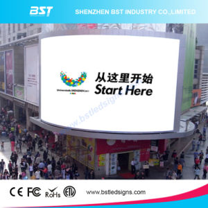 Bst P6 Outdoor Advertising LED Display Full Color Waterproof pictures & photos