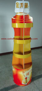 Pop Cardboard Display Stand with 4c Offset Printing for Oil, Paper Display Stand pictures & photos