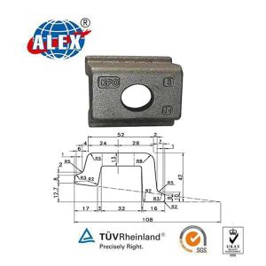 Track Rail Clamp with Tie Plate pictures & photos