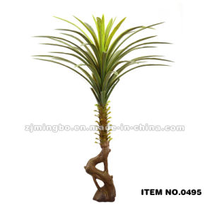 Artificial Flag Leaves Plant Indoor Ornamental Plants, Evergreen Ornamental Plants0495