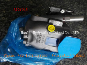 (A10VO45) Uchida Rexroth Hydraulic Piston Oil Pump for Crawler Excavator pictures & photos