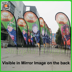 Cheap Custom Polyester Roadside Banner (TJ-FL001) pictures & photos