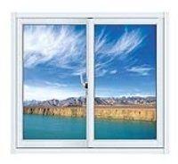 White Color Aluminum Sliding Window pictures & photos