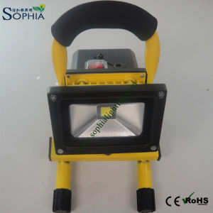 20va Rechargeable Outdoor Light, Portable Floodlight, Rechargeable Floodlight