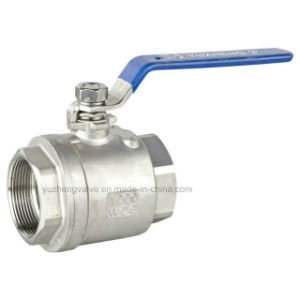 Ss 2PC Floating Ball Valve pictures & photos