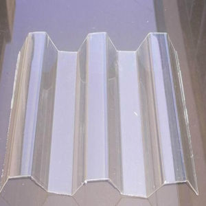 Grade a Hollow Corrugated Waving Polycarbonate Sheet pictures & photos