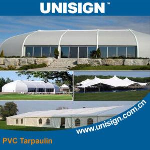 Anti-UV PVC Coated Tarpaulin for Sunshade pictures & photos