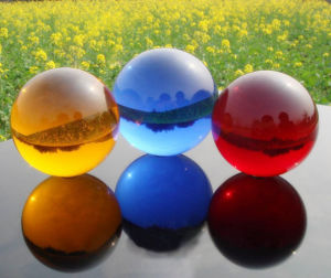 High Quality Glass Ball, Crystal Glass Ball, Glass Sphere pictures & photos