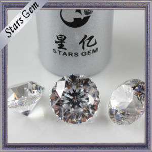 High Top Grade Round Synthetic Diamond for Fashion Jewelry pictures & photos