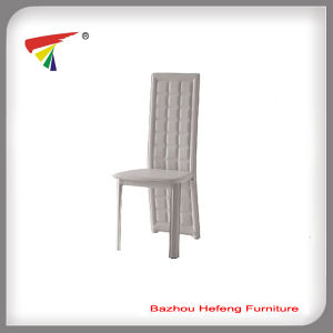 Modern Appearance High Back PVC Leather Dining Chair (DC032) pictures & photos