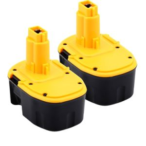 2 Pack 14.4V Ni-MH Power Tools Battery
