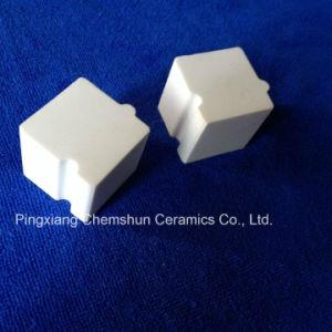 Abrasion Resistant Ceramic Interlocking Cube /Alumina Ceramic Block Manufacture pictures & photos