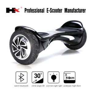 Hot Sale Double Bluetooth Speaker 2 Wheels Self-Balancing Scooter Electric Unicycle Scooter pictures & photos