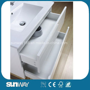 Hot Sale Europe Style Bathroom Vanity with Mirror Cabinet (SW-1502) pictures & photos