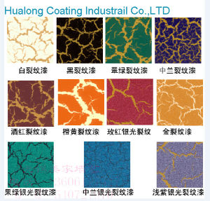 Hualong Wall Decoration Blue Crackle Effect Primer pictures & photos