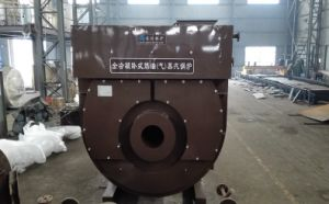 Horizontal Oil Condensing Steam Boiler for Industrial pictures & photos