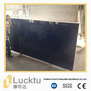 High Quality Starlight Black Galaxy Engineered Artificial Quartz Stone