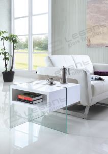Lovely White MDF Tea Table of Modern Style pictures & photos