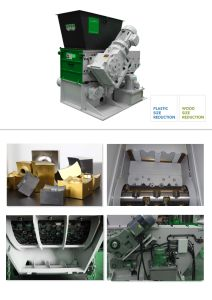 Els Series Single Shaft Shredder for Sensitive Products/Small Batches/House Recycling pictures & photos