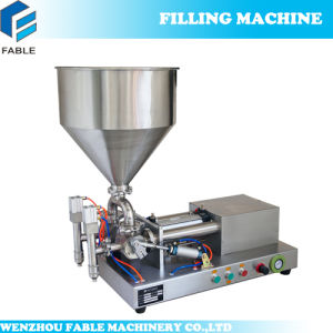Small Volume Oil Sauce Can Paste Filling Machine (FTP-2) pictures & photos