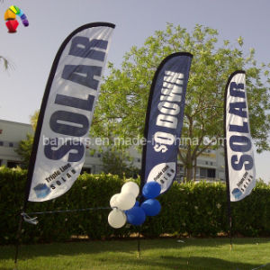 Cheap Custom Polyester Blade Flag pictures & photos