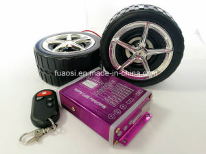 MP3 Audio Motorcycle Alarm System with Wheel Shape