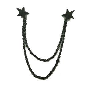 Star Shaped Custom Pin Brooch Metal Shirt Collar Brooch pictures & photos