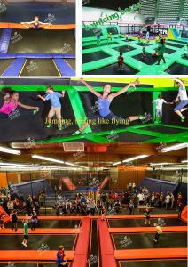 Kaiqi Indoor Trampoline Park Playground Design (TR322A) pictures & photos