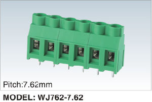 Pitch 7.62mm PCB Screw/Rising Clamp Terminal Block 300V/30A (WJ762-7.62) pictures & photos