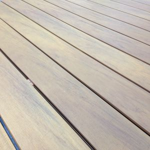 Co-Extruded WPC Composite Decking with CE SGS Fsc Certificate pictures & photos
