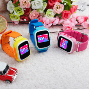 Pedometer Kids GPS Security Tracker Smart Watch with SIM Card Y5w pictures & photos