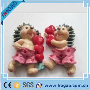 3D Polyresin Animal Hedgehog Fridge Magnet pictures & photos