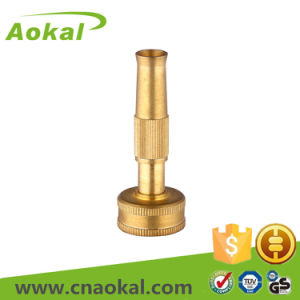 "Brass Mist Spray Gun Sprinkler Nozzle 3"" Brass Adjustable Nozzle pictures & photos"